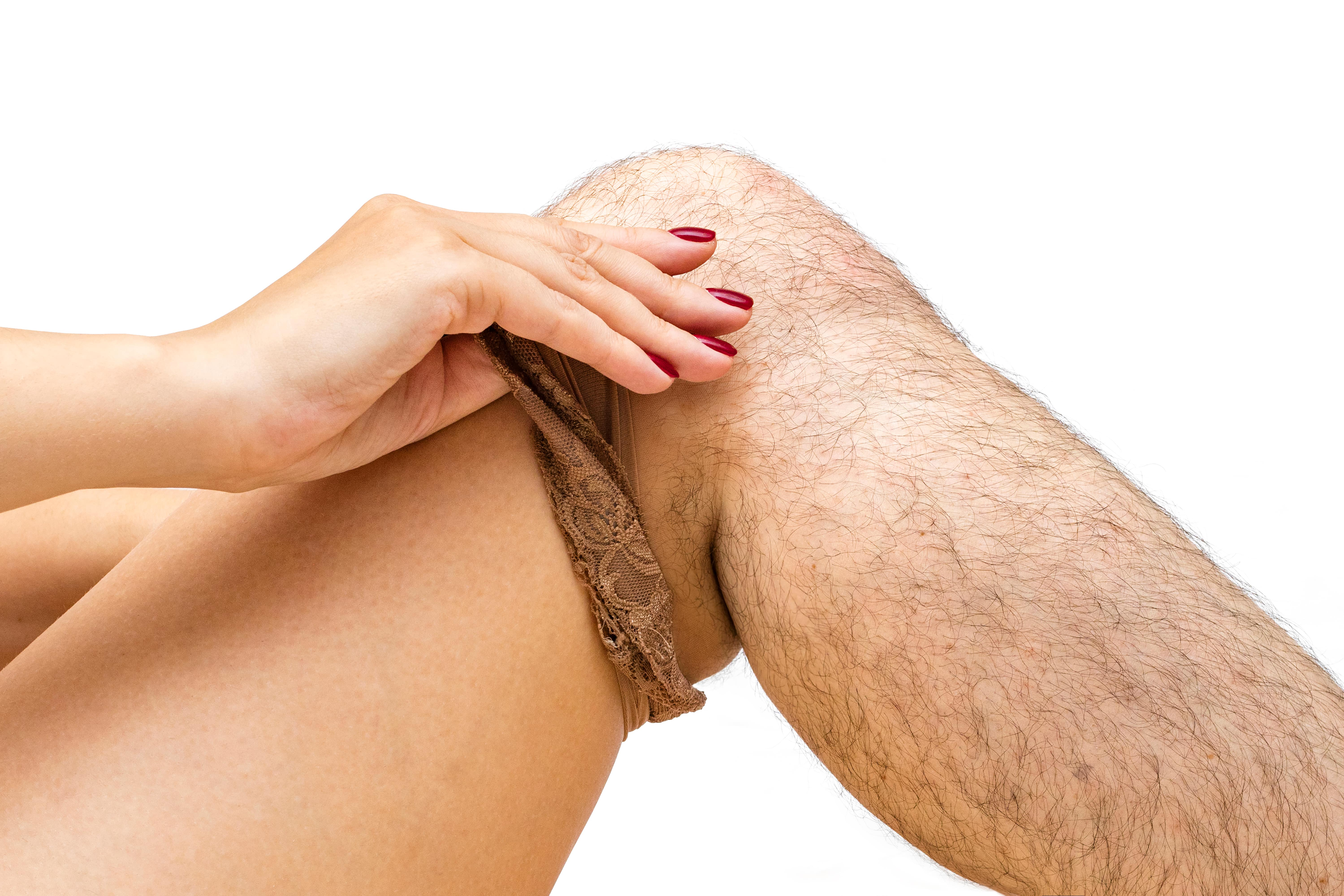 Pearlwax hårfjerning på ben
