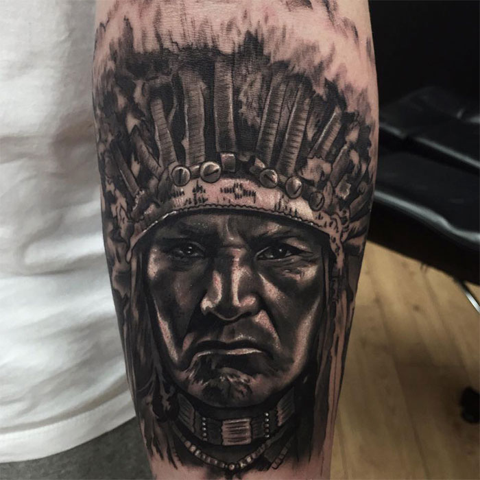 adem-tattoo-uk-portrait-indian